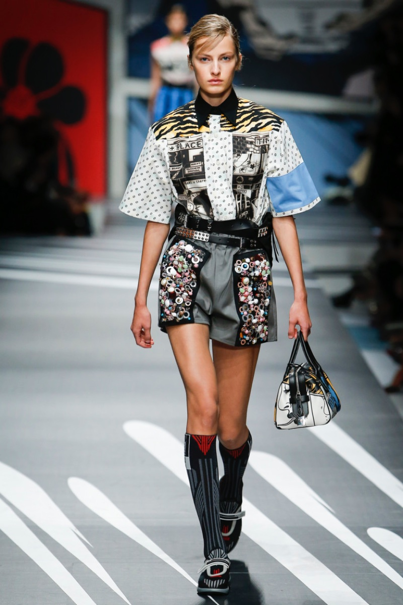 Prada 2018 Spring Summer Runway Fashion Gone Rogue