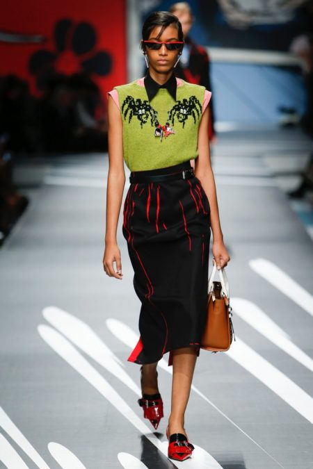Prada Goes Pop for Spring 2018