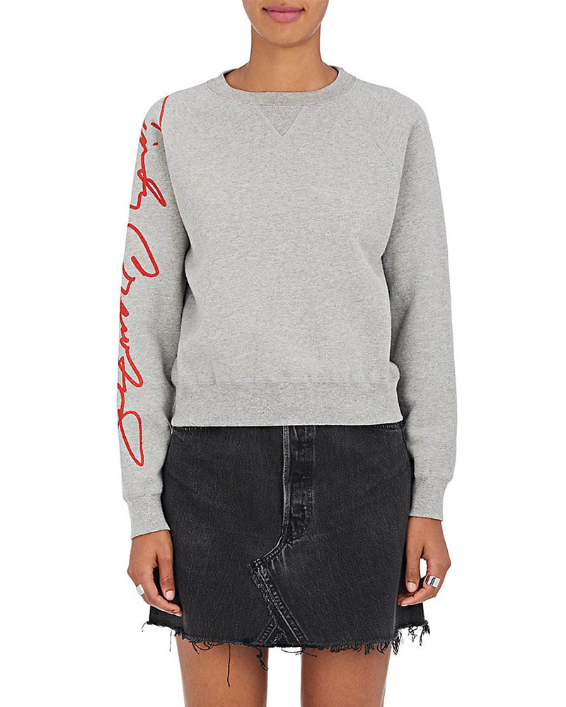RE/DONE The Crawford Cotton-Blend Sweatshirt $235