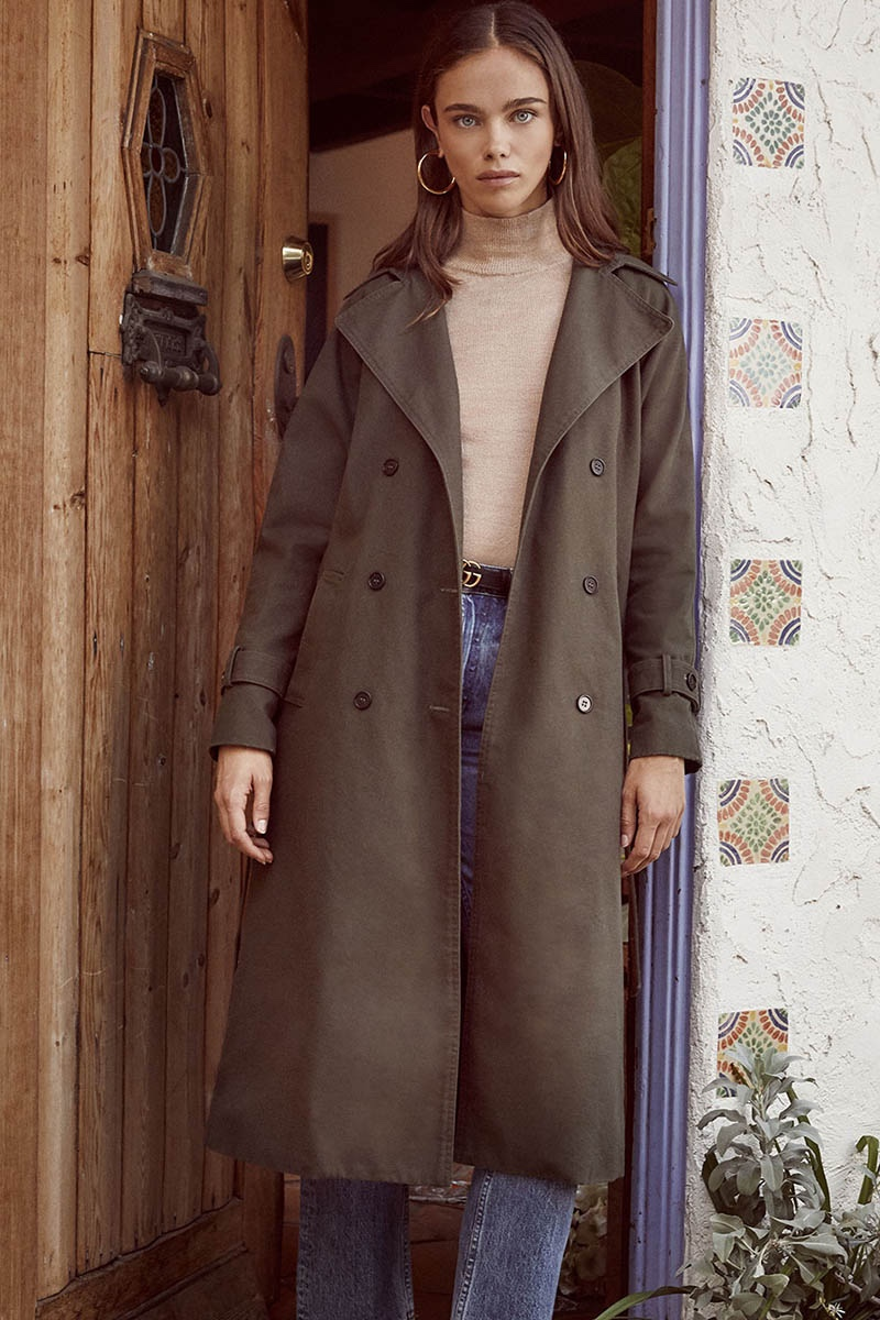 Reformation Colonel Coat in Army
