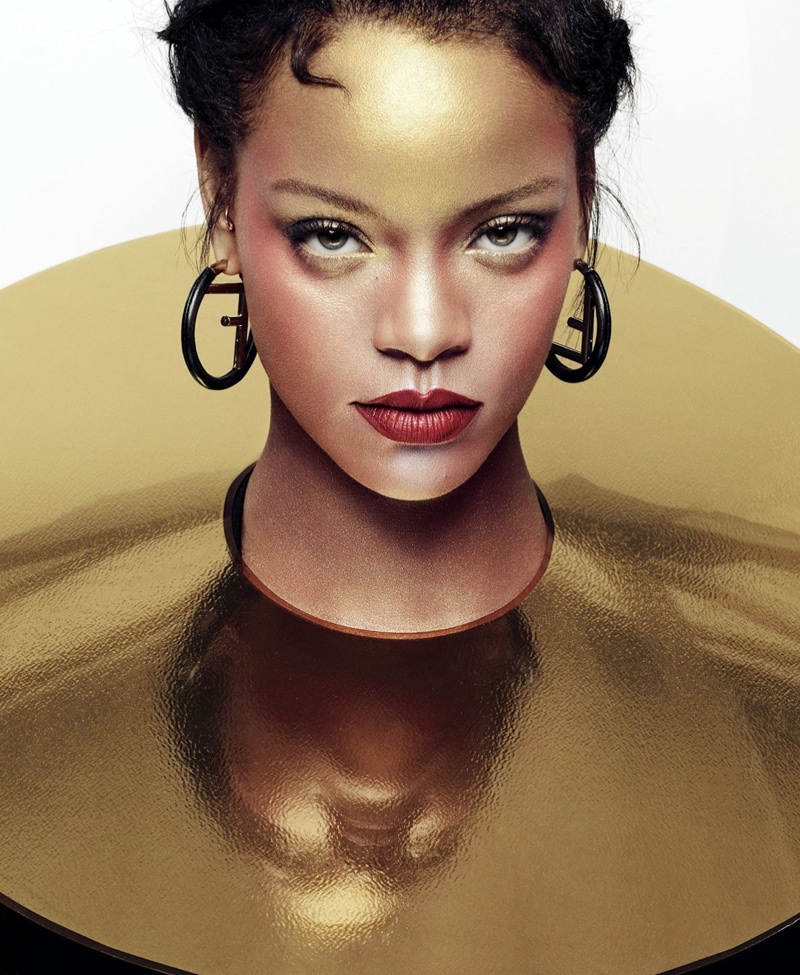 earrings lookbook gemstone rihanna chandelier