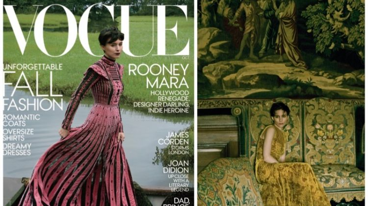 Rooney Mara Stars in Vogue, Talks Sister Kate