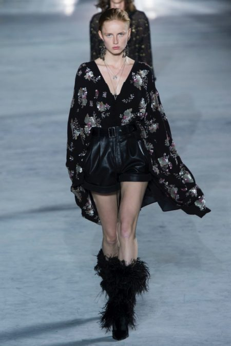 Saint Laurent Pays Homage to House Codes for Spring 2018