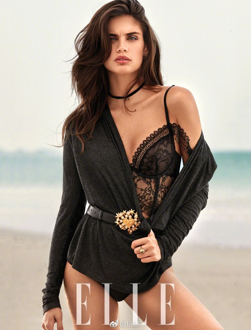 Sara Sampaio Turns Up the Heat in ELLE China Cover Story