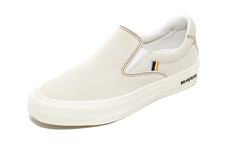 SeaVees x Derek Lam 10 Crosby Hawthorne Slip On Sneakers in Oyster $140