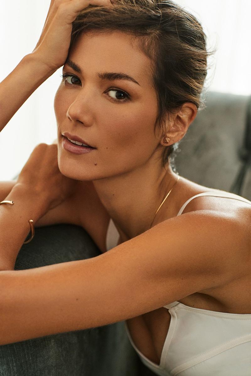 Sheila Marquez Wows in Laura Mercier Beauty for Harper's Bazaar
