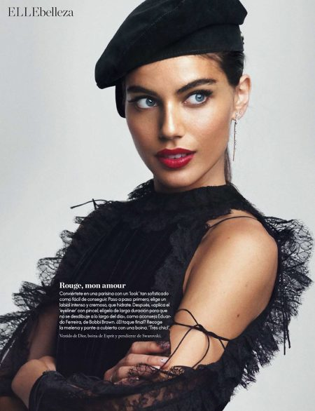 Shlomit Malka Wows in Fall Makeup Looks for ELLE Spain