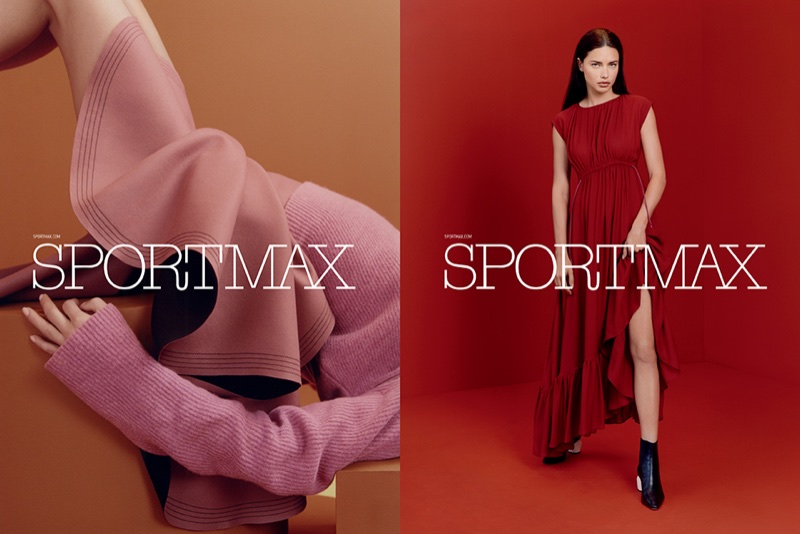 Sportmax taps Adriana Lima for its pre-fall 2017 campaign