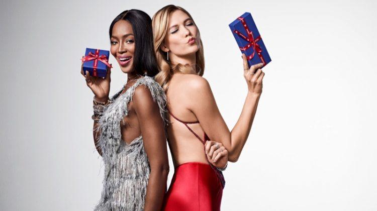 Karlie Kloss & Naomi Campbell Front Swarovski's Star-Studded Holiday 2017 Campaign