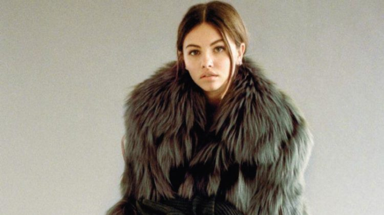 Thylane Blondeau Models Michael Kors' Fall Styles for L'Officiel Paris
