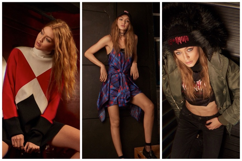 Tommy x Gigi fall-winter 2017 collection