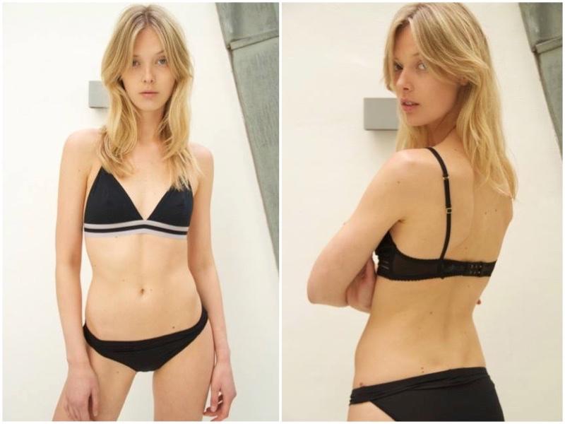 Model Ulrikke Hoyer. Photo: Facebook
