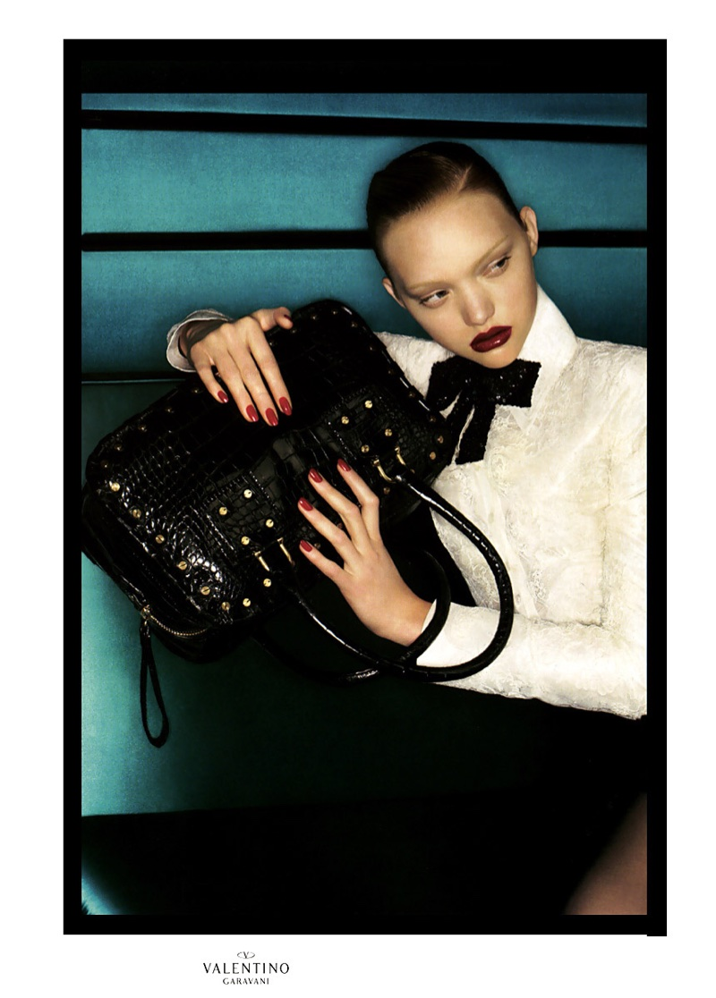 Gemma Ward looks sultry in Valentino's fall-winter 2006 campaign