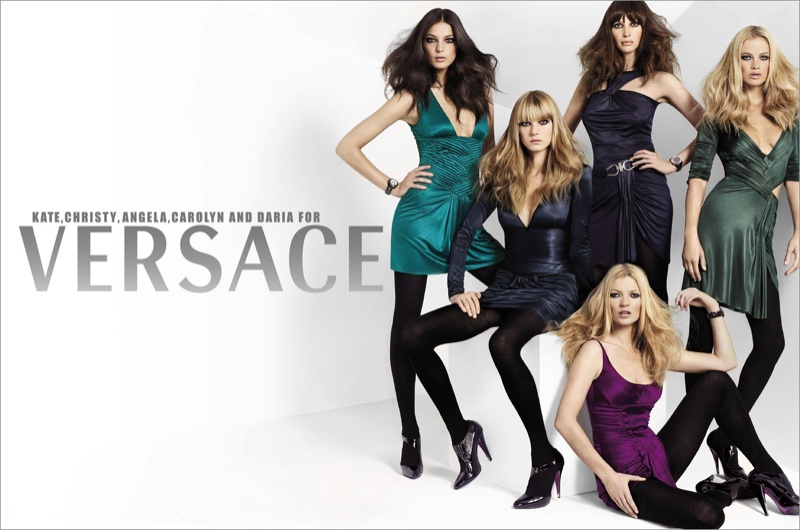 An image from Versace's fall 2006 advertising campaign