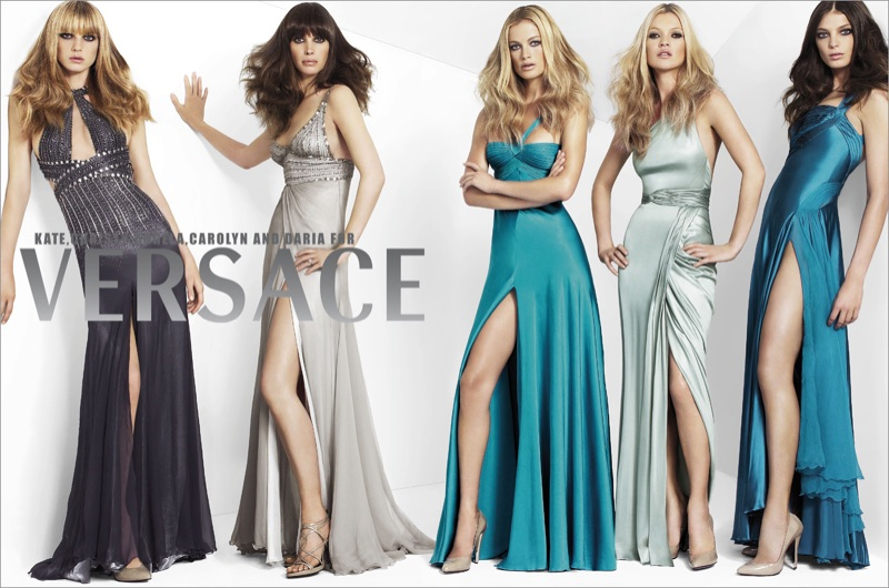 Gowns take the spotlight in Versace's fall-winter 2006 campaign
