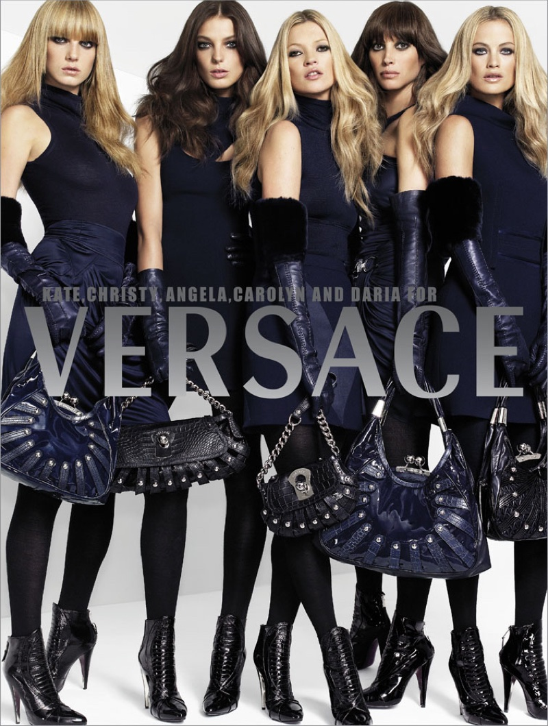An image from Versace's fall-winter 2006 advertising campaign