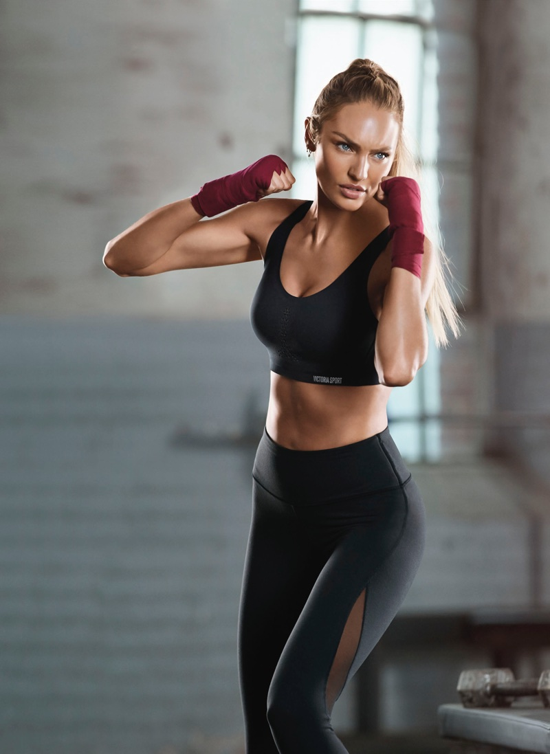 Candice Swanepoel stars in Victoria's Secret Sport Angel Max campaign