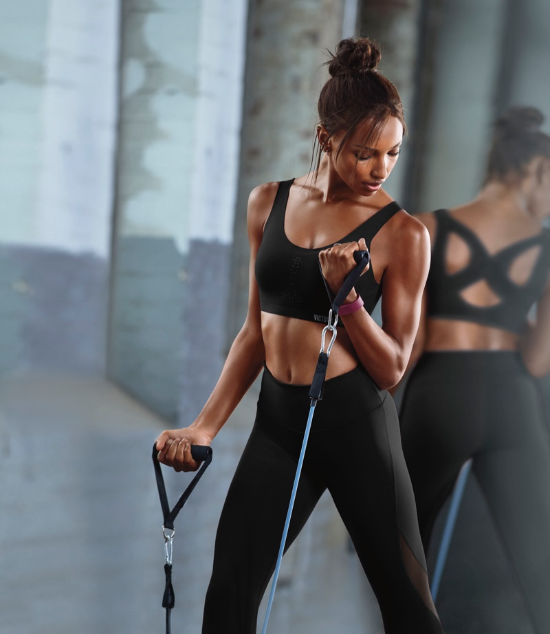 Jasmine Tookes fronts Victoria's Secret Sport Angel Max campaign