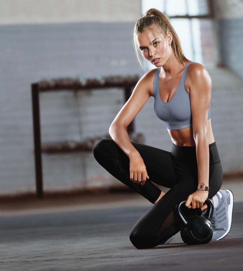 Josephine Skriver stars in Victoria's Secret Sport Angel Max campaign