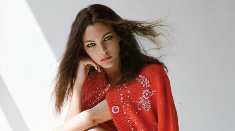 Vittoria Ceretti Looks Pretty in Prada for Vogue Korea