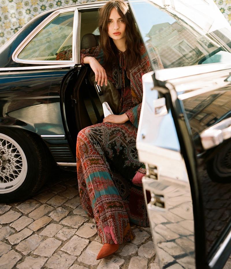 Waleska Gorczevski Poses in Chic Looks for Stella Magazine