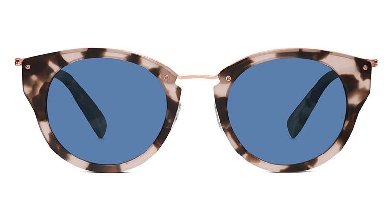Warby Parker Hadley Sunglasses in Opal Tortoise $145