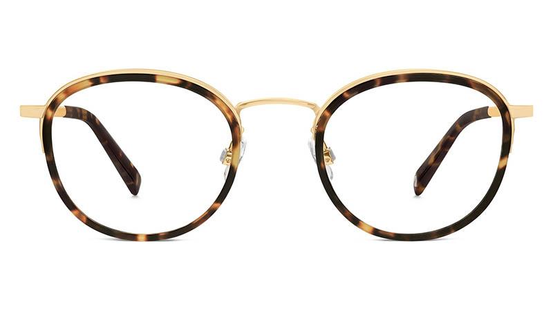 Warby Parker Logan Glasses in Hazelnut Tortoise $145