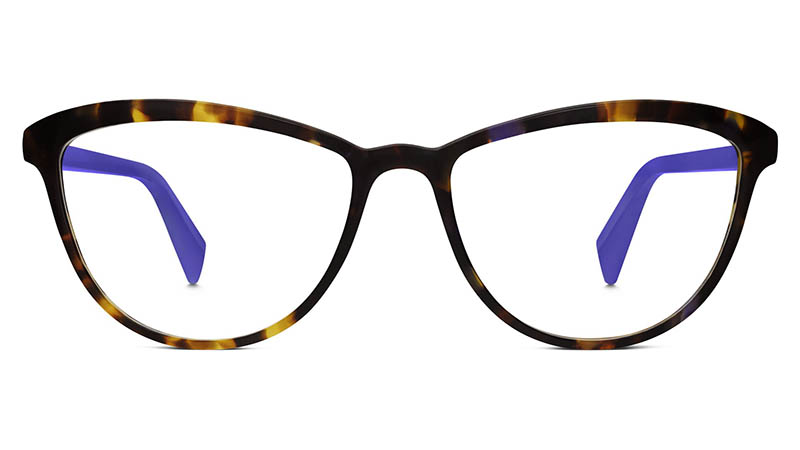 Warby Parker Louise Glasses in Violet Magnolia $95