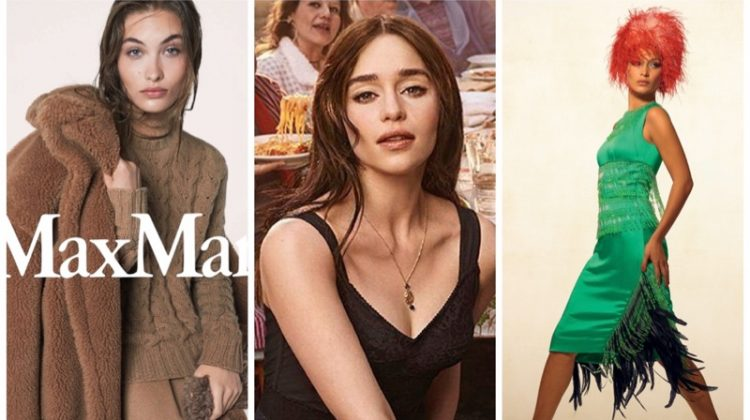 Week in Review | Bella Hadid's New Cover, Max Mara's Fall Ads, Emilia Clarke Fronts Dolce & Gabbana + More