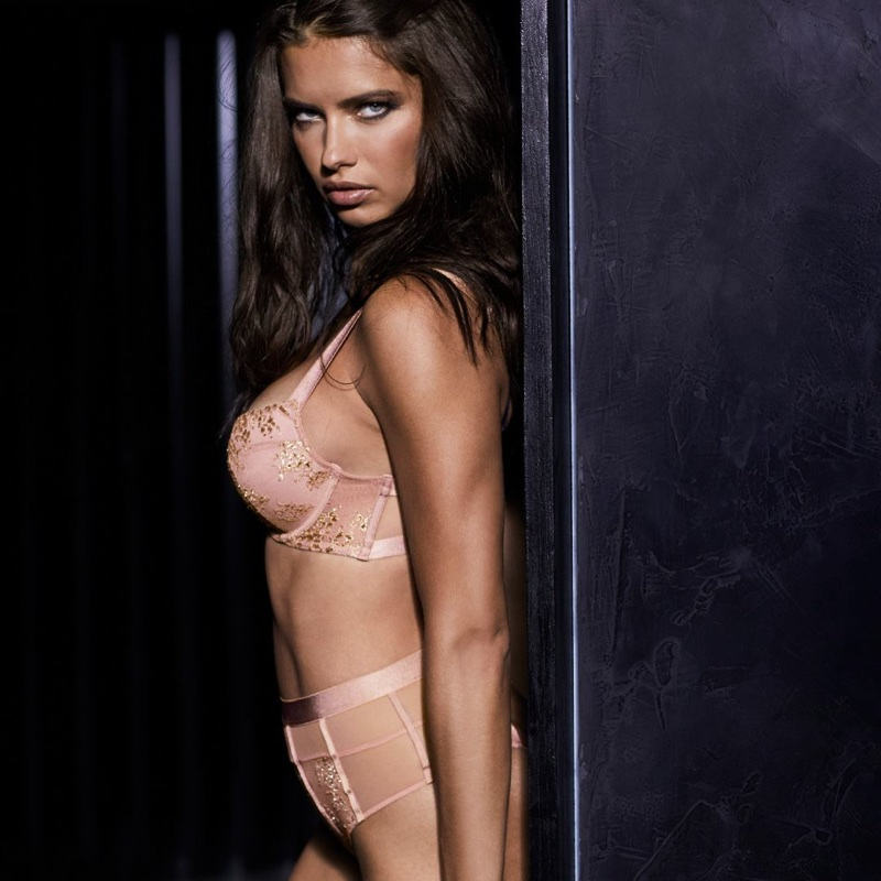 Adriana Lima stars in Victoria's Secret Obsessed campaign