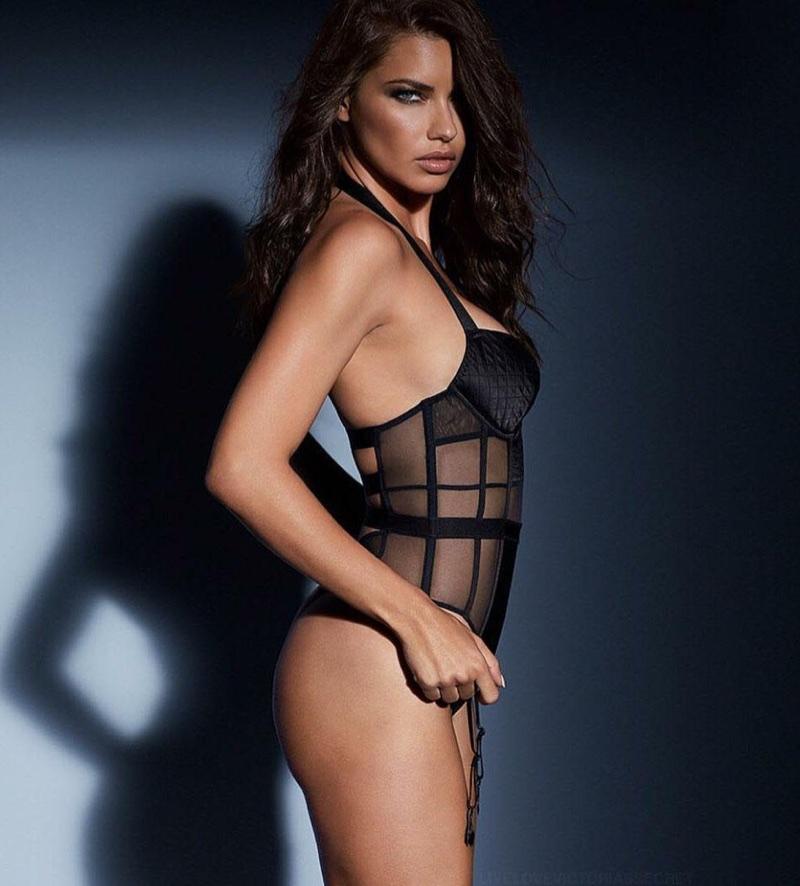 Adriana Lima smolders in Victoria's Secret Obsessed campaign