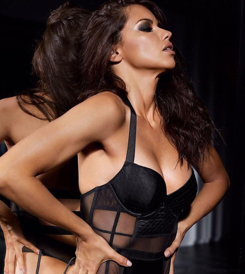 Victoria's Secret shows Angel Adriana Lima flaunting her figure in Obsessed campaign