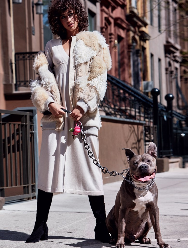 Alanna Arrington Wears Uptown Style for Harper's Bazaar Kazakhstan