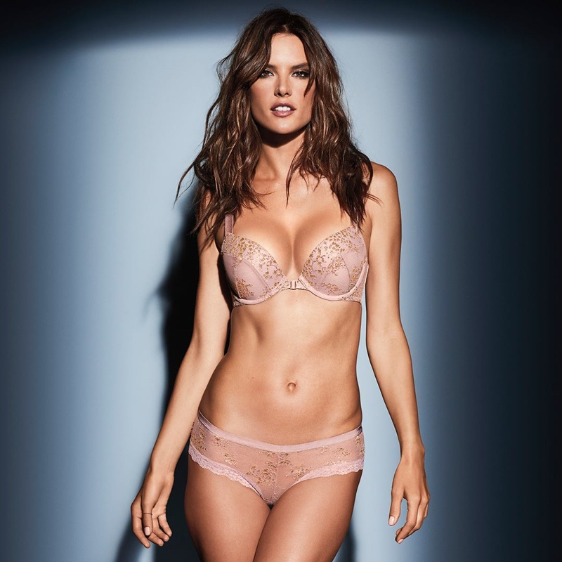 Adriana Lima fronts Victoria's Secret Obsessed campaign