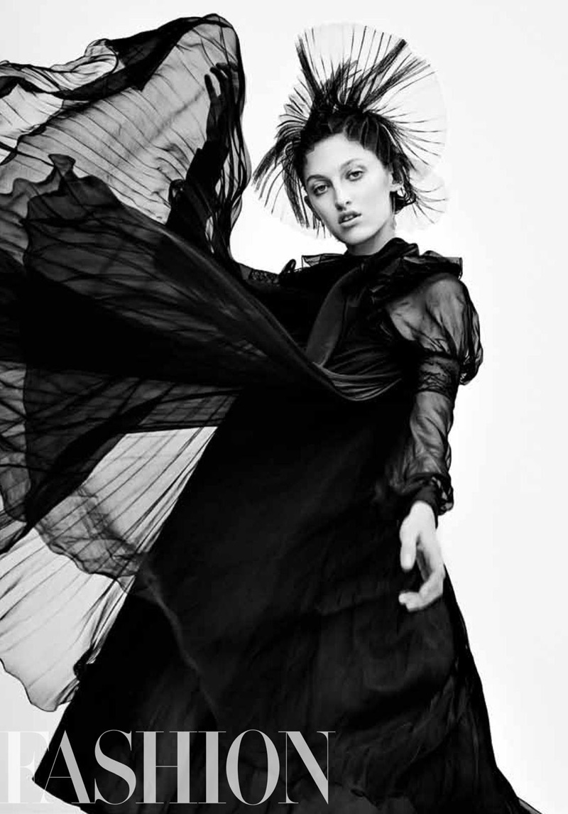Amber Witcomb Poses In The Fall Collections For FASHION