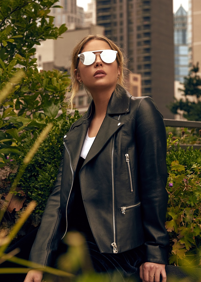 Ashley Benson stars in Privé Revaux campaign