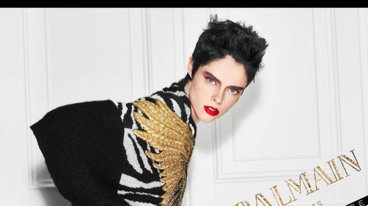 Coco Rocha stars in Balmain Hair Couture Icons campaign