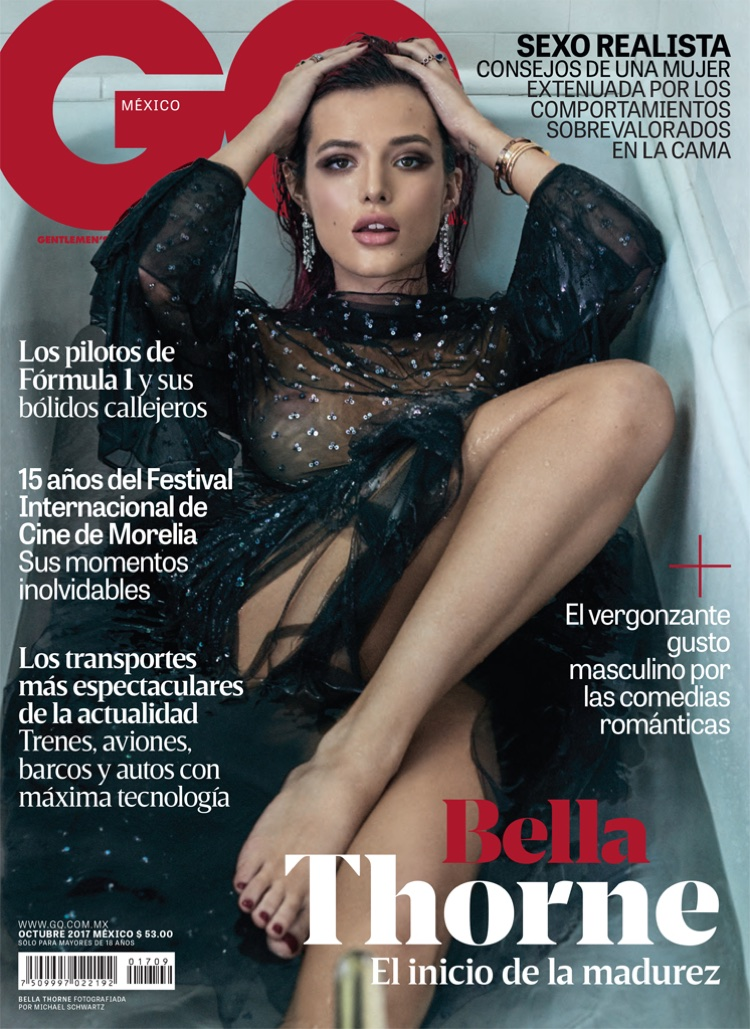 Bella Thorne on GQ Mexico October 2017 Cover