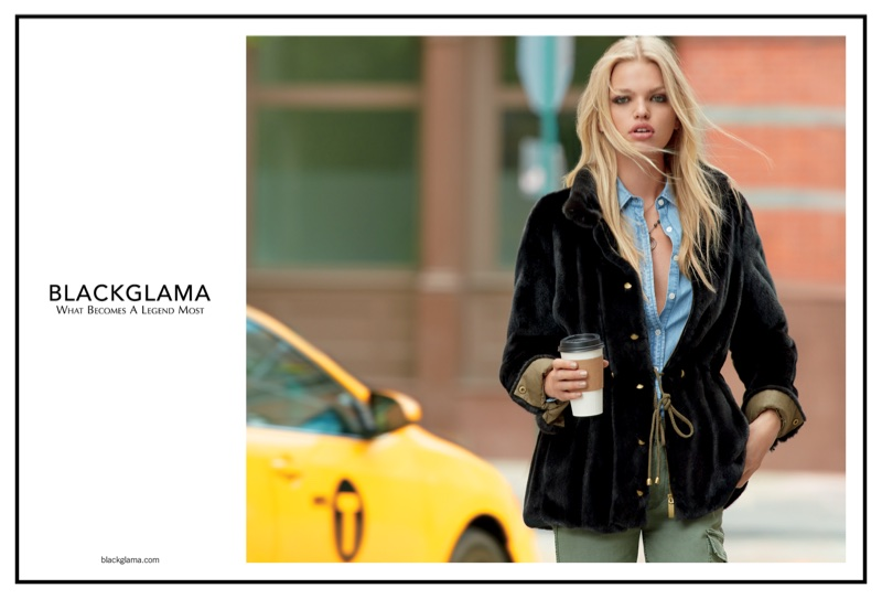 Daphne Groeneveld Heads to NYC for Blackglama's Fall 2017 Campaign
