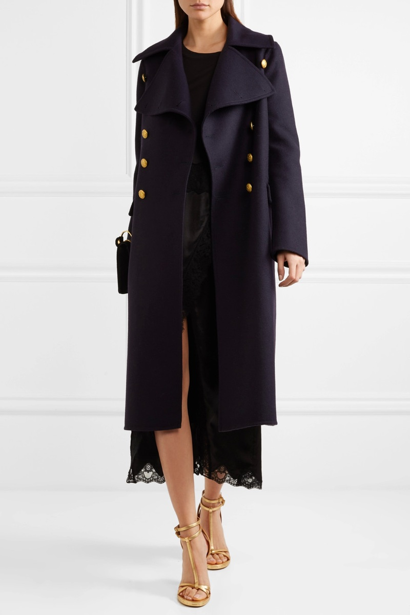 Burberry Wool Felt Coat $1,995