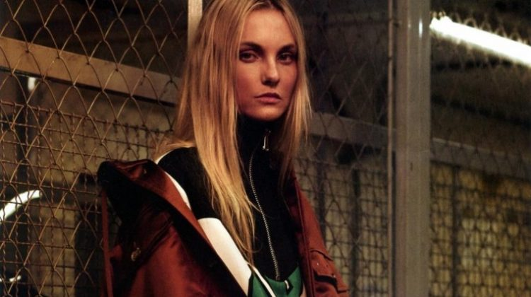 Caroline Trentini Poses in Moto Glam Looks for L'Officiel Brazil