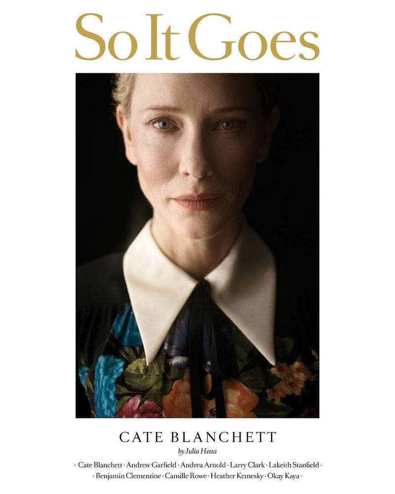 Cate Blanchett on So It Goes #10 Cover