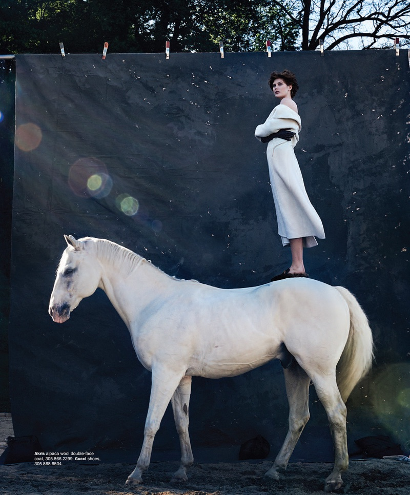 Catherine McNeil Takes On Equestrian Style for Bal Harbour Magazine