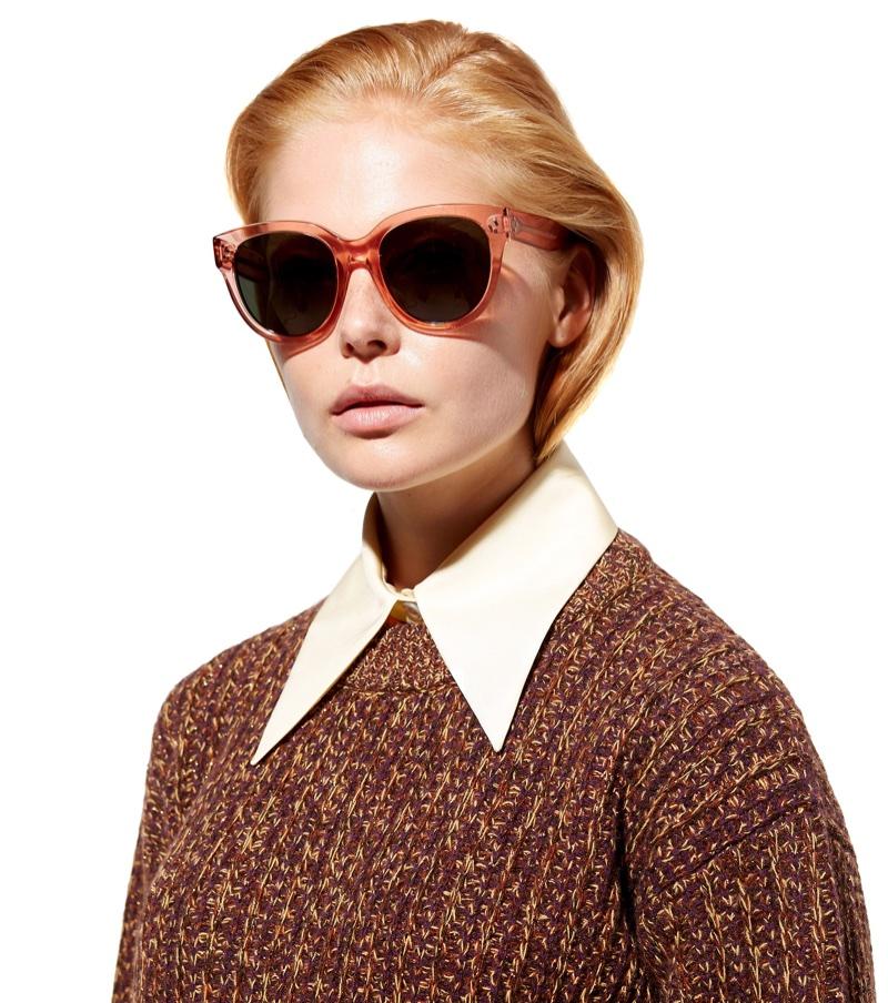 Céline Audrey Oversized Sunglasses $295