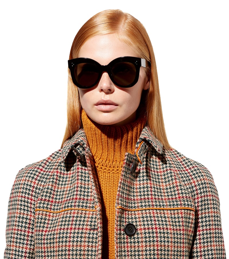 Céline Chris Cat-Eye Sunglasses $348