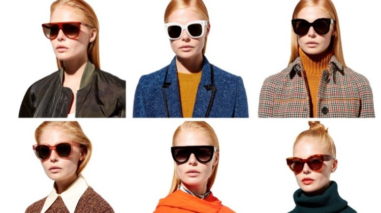 Celine fall-winter 2017 sunglasses launch at MyTheresa
