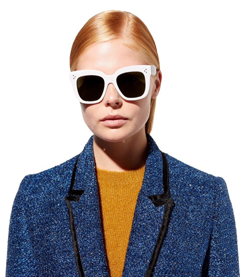 Céline Kim Square Sunglasses $348