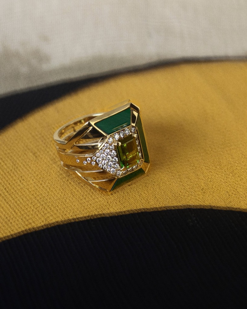 A ring from Chanel Gallery fine jewelry collection