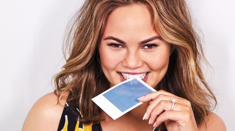 Chrissy Teigen is All Smiles in Colorful Looks for InStyle
