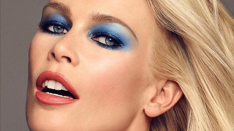 Claudia Schiffer stars in Claudia Schiffer Makeup campaign